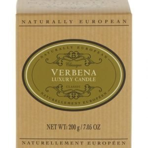 Naturally European Naturally European Classique Verbena Luxury Tuoksukynttilä