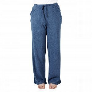 Navy Stories Melange Pyjama Pants Pyjamahousut Mariininsininen M