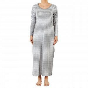 Navy Stories Stripe Nightgown Yöpaita Harmaa L