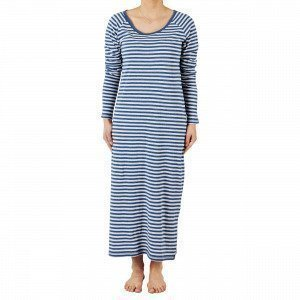 Navy Stories Stripe Nightgown Yöpaita Mariininsininen S