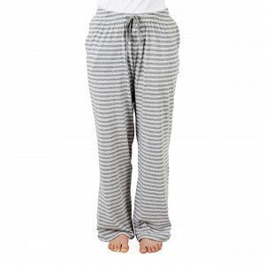 Navy Stories Stripe Pyjama Pants Pyjamahousut Harmaa L