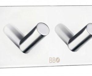 Nelikoukku Smedbo B 1094 tarrakiinnitteinen