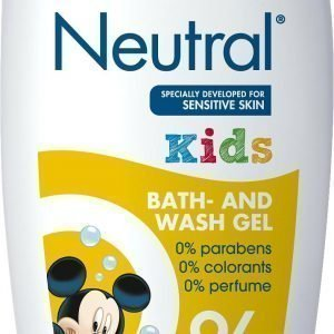 Neutral Kids Bath & Wash Hajusteeton Suihkusaippua 250 Ml