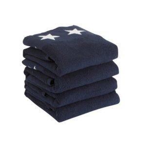 Nova Käsipyyhkeet 4-Pakkaus Sininen