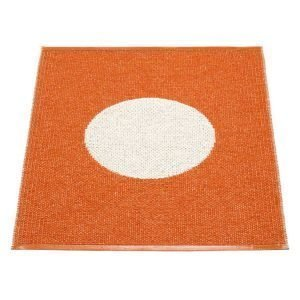 Pappelina Vera One Kylpyhuonematto Orange / Vanilla 70x90 Cm