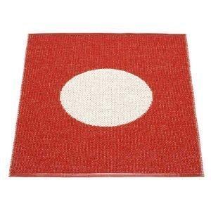 Pappelina Vera One Kylpyhuonematto Red / Vanilla 70x90 Cm