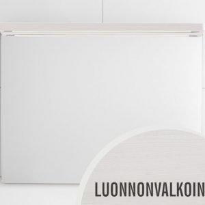 Peili Hafa Sun 900 LED-valaistuksella valkoinen tammivaneri