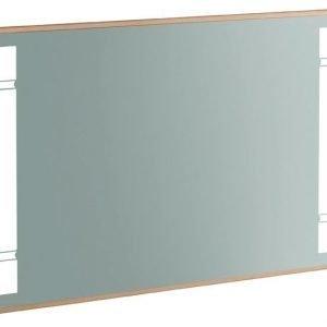 Peili LED-valaistuksella 6.4W Villeroy & Boch True Oak A480 1000x650x45 Mellow Oak