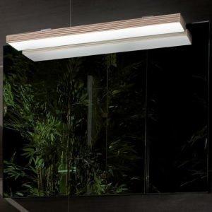 Peili LED-valaistuksella 6.4W/IP 44 Villeroy & Boch Memento C304 800x750x50/170 mm Bright Oak