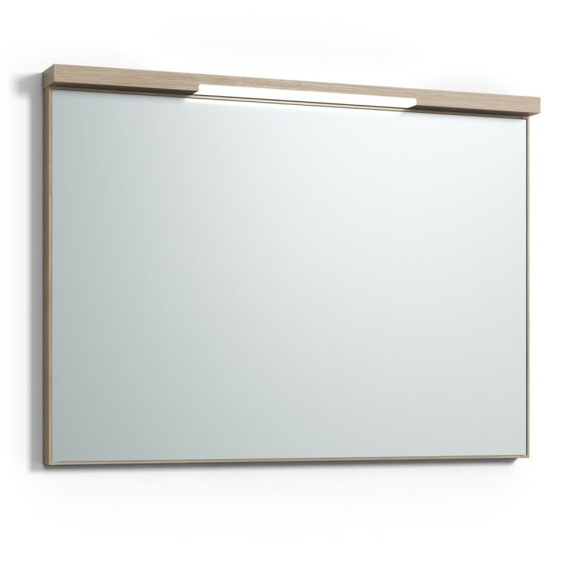 Peili Svedbergs Stil Top-Mirror 100 vaalea tammi