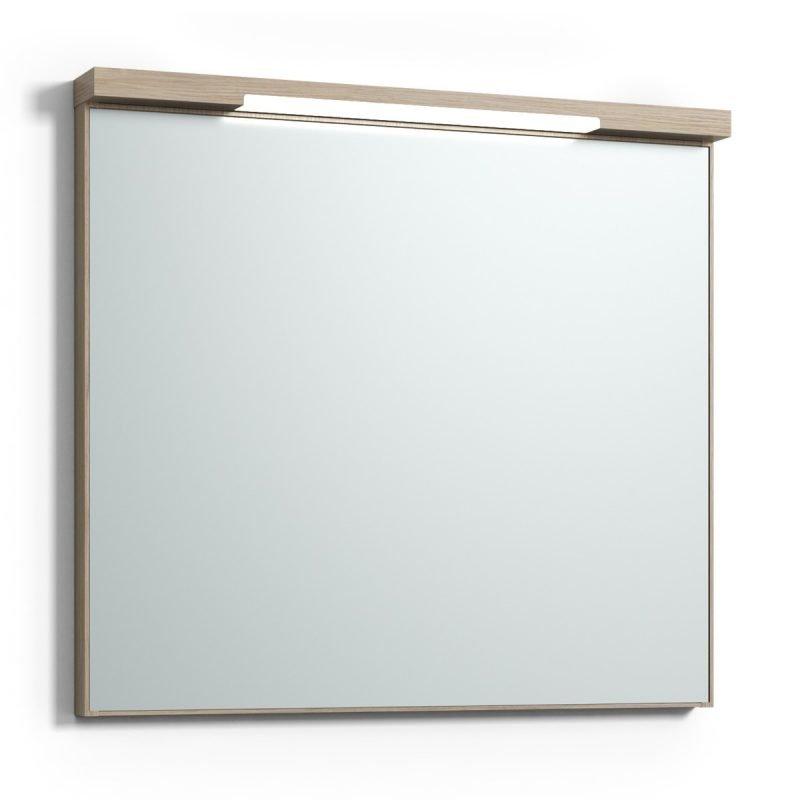 Peili Svedbergs Stil Top-Mirror 80 vaalea tammi