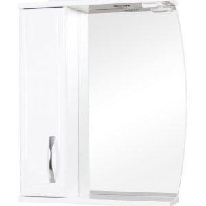 Peilikaappi Aquarodos Decor valkoinen valaisimella 615x170x795mm