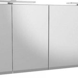 Peilikaappi Gustavsberg Artic Matte White 1500x650x132 LED-valoilla