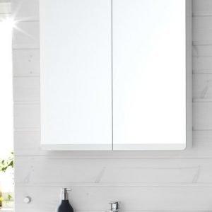 Peilikaappi Hafa Sun 600 LED-valaistuksella valkoinen matta