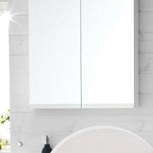 Peilikaappi Hafa Sun 900 LED-valaistuksella valkoinen tammivaneri