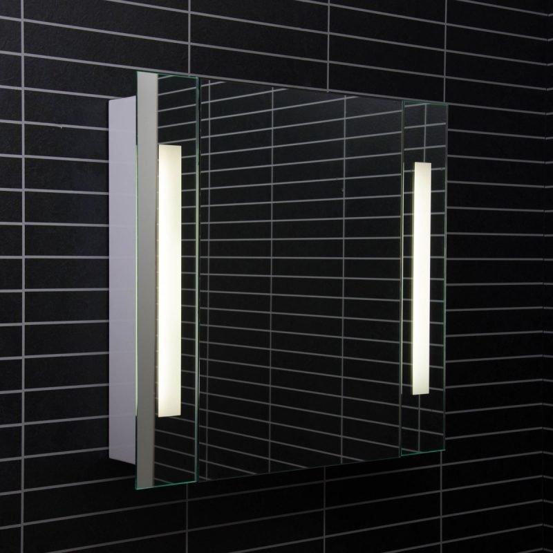 Peilikaappi Tammiholma Lodi 65x62 cm 2x15W loisteputki
