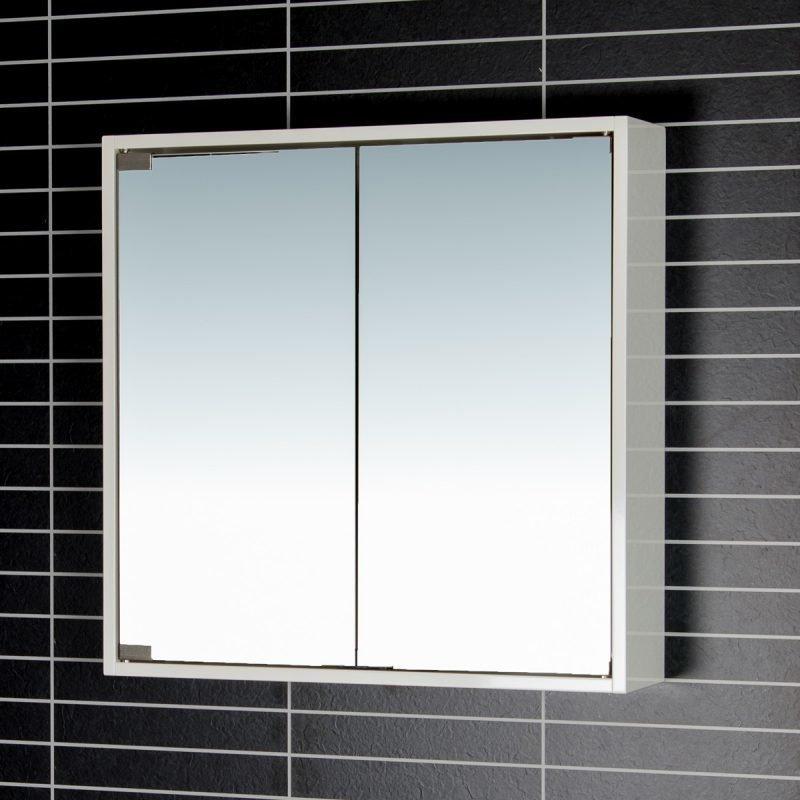 Peilikaappi Tammiholma PK-60 60x60 cm valkoinen valoton
