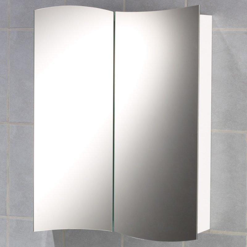 Peilikaappi Tammiholma Padova 540x700x110 mm valkoinen
