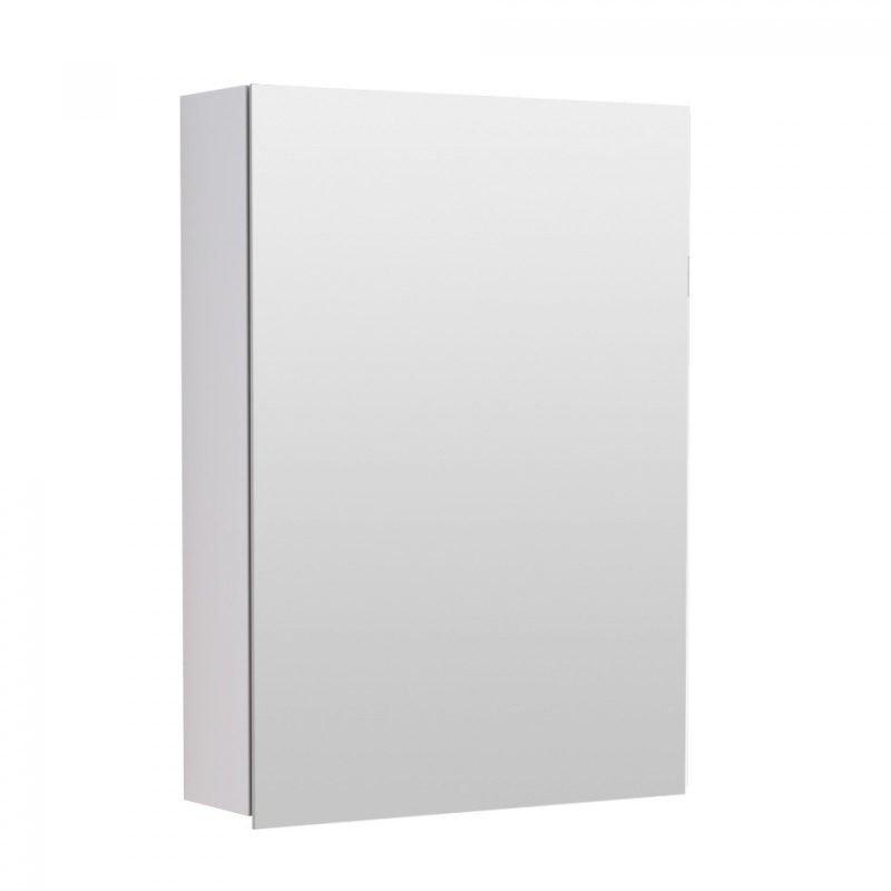 Peilikaappi Temal piilosaranoilla ilman ledilippaa yhdellä ovella eri värejä