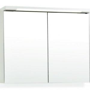 Peilikaappi Top-Line 100 LED ala- ja ylävalaistuksella valkoinen
