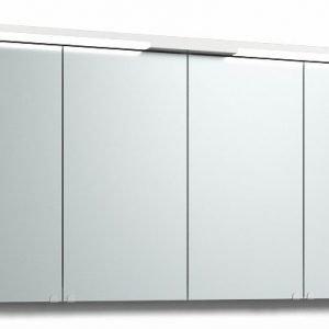 Peilikaappi Top-Line 140 ala- ja ylävalaistuksella valkoinen