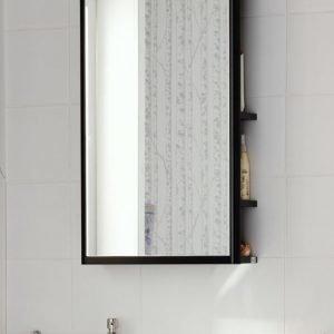 Peilisäilytin Hafa One 440 LED-valaistus + pistorasia musta tammivaneri