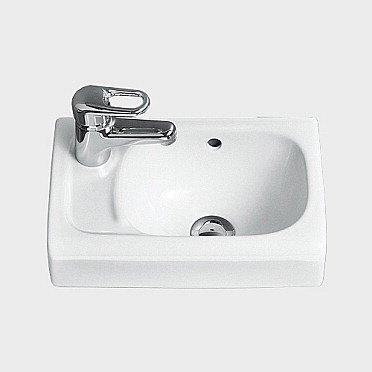 Pesuallas IDO Miniara 11450 370x235x152 mm vasen valkoinen