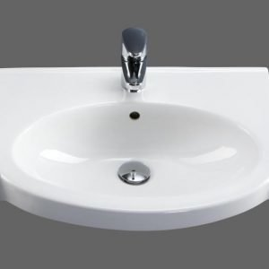 Pesuallas IDO Plus 11131 560x330/435x175 mm valkoinen