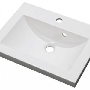 Pesuallas Otsoson Clever 500 502x390x40 mm valkoinen