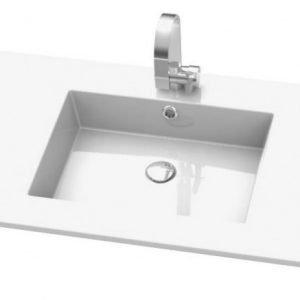 Pesuallas Otsoson Meri 1003x485x15 mm valkoinen