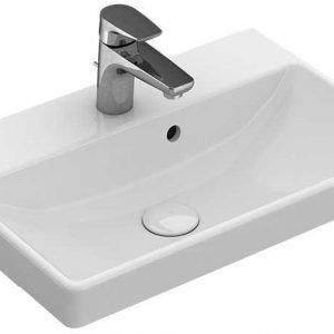 Pesuallas Villeroy & Boch Avento 550x370mm valkoinen