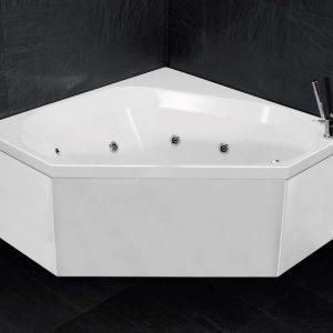 Poreamme Motion 140 C Comfort akryyli valkoinen