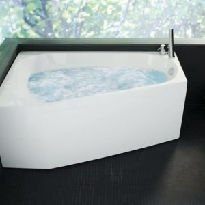 Poreamme Motion 160 R Comfort akryyli valkoinen