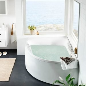 Poreamme Ocean 170 R Duo Comfort akryyli valkoinen