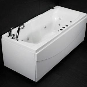 Poreamme Wave 160 SQ Comfort akryyli valkoinen