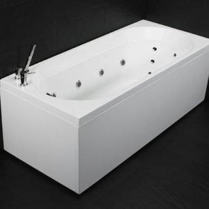 Poreammepaketti Motion 160 SQ Superior Soft hana + etu- ja päätylevy valkoinen
