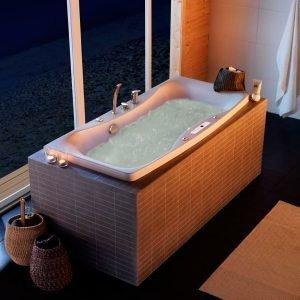 Poreammepaketti Ocean 150 SQ Superior Soft hana + etu- ja päätylevy valkoinen