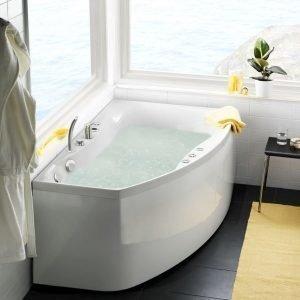 Poreammepaketti Ocean 160 L Comfort hana + etulevy valkoinen