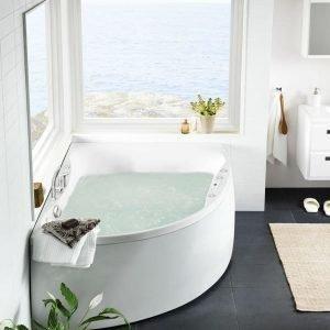 Poreammepaketti Ocean 170 L Duo Superior Soft hana + etulevy valkoinen