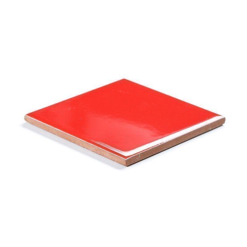 Punainen Seinälaatta 10x10 Punainen