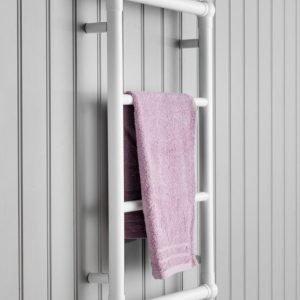 Pyyhekuivain Hafa Hampton 475x750 mm valkoinen