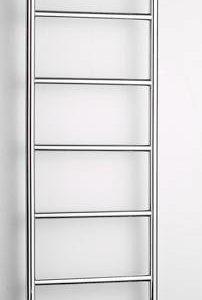 Pyyhekuivain Karisma Design Tica 02/7/350 vesikiertoinen yläkytkentä