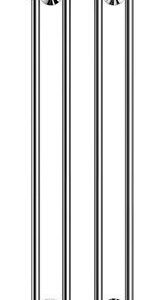 Pyyhekuivain Rej Design Vivo BT 40124 1180 x 400 mm kromi