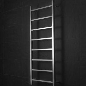 Pyyhekuivain Tempo Ladder 500x1200 mm 80 W ruostumaton teräs
