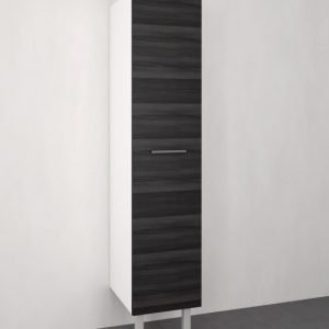 Pyykkikaappi Otsoson 400 1750x500x400 mm harmaa puunsyy