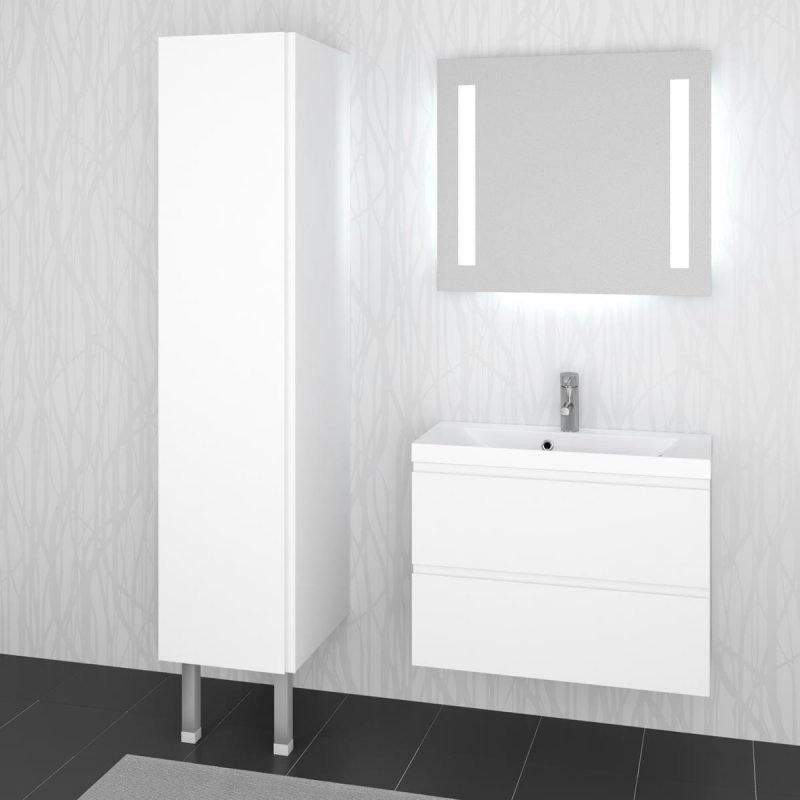 Pyykkikaappi Otsoson 500 1750x500x500 mm valkoinen