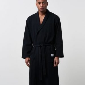 Resteröds Bathrobe 09 Black