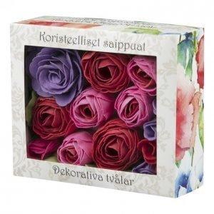 Ruususaippua Lahjapakkaus 12 Kpl