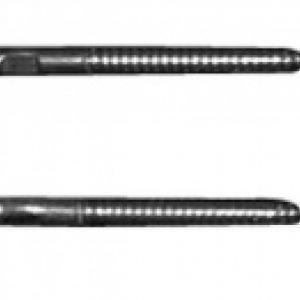 Ruuvikiinnikkeet Duravit altaalle 10x140 mm