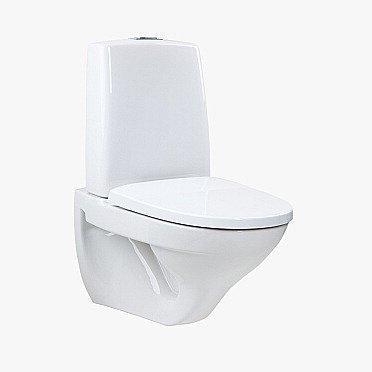 Seinä-WC IDO Seven D 34219 1-huuhtelu valkoinen pehmeä kansi